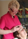 Sally doing a Indian Head Massage